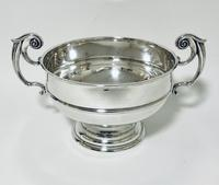 Large Antique Solid Silver Punch Bowl (9 of 12)