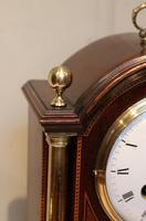 Mahogany and Inlay Bracket Clock (9 of 13)