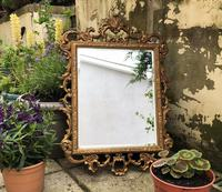 Victorian Gesso Wall Mirror (17 of 19)