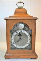 High-quality 1951 English Bracket Timepiece by Rotherham of Coventry