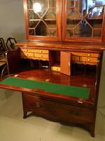 Good George III Period Mahogany Secretaire Bookcase (5 of 7)