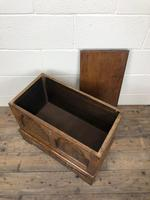 Antique 18th Century Style Welsh Oak Coffer Bach (5 of 14)