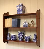 Mahogany Wall Shelves (2 of 10)