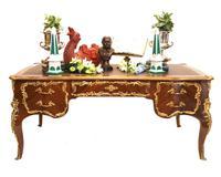 French Bureau Plat Desk - Empire Dummy Partners Desks (2 of 15)