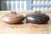 Scandinavian / Swedish 'Folk Art' wooden sliding-lid bowl 19th Century (6 of 15)