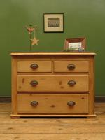 Antique Victorian Rustic Pine Nautical Boat Yard Chest of Drawers, sink unit (8 of 12)