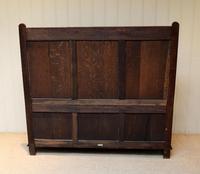 Solid Oak Carved Settle (9 of 10)