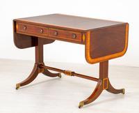Mahogany Regency Style Sofa Table (5 of 10)