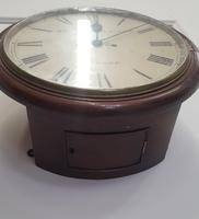Double Fusee Wall Clock C1860 (8 of 9)