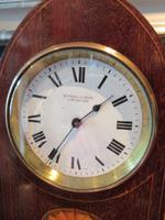 Antique Sheraton Inlaid Dent of London Mantel Clock (2 of 7)