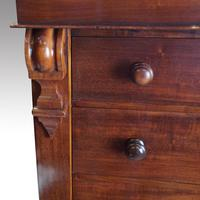 Victorian Mahogany  6 Drawer Wellington Chest (5 of 8)