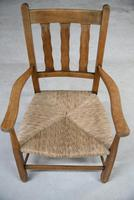 Beech & Rush Arts & Crafts Side Chair (2 of 9)