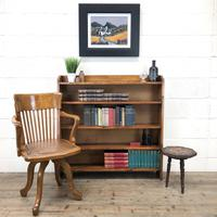 Early 20th Century Antique Oak Bookcase (2 of 9)