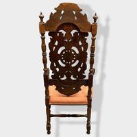 17th Century High Back Armchair (13 of 14)