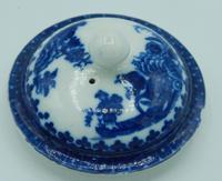 Caughley Fisherman & Cormorant Pattern Teapot (4 of 6)