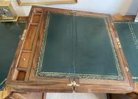 Victorian Brass-bound Walnut Writing Slope with Secret Drawers (18 of 39)