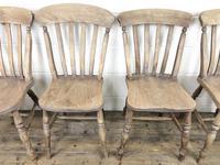 Four 19th Century Farmhouse Kitchen Chairs (5 of 12)