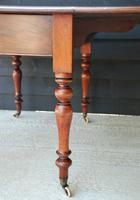 Good Quality Victorian Mahogany Pembroke Dining Table 'Seats 6 People' (6 of 10)