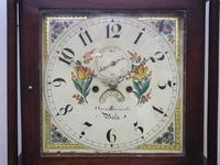 18th Century Longcase Clock Fine Welsh Oak Bala Grandfather Clock Painted Dial c.1844 (9 of 13)