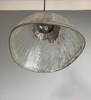 Mercury Glass Pendant Ceiling Light, Rewired c.1900 (9 of 10)