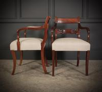 Set of 8 Regency Mahogany Dining Chairs (3 of 20)