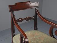 Pair of Late Georgian Mahogany Armchairs (3 of 16)