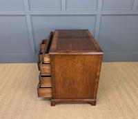 18th Century Burr Walnut Kneehole Desk (2 of 14)