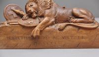 19th Century Carving of the Lion of Lucerne (6 of 9)