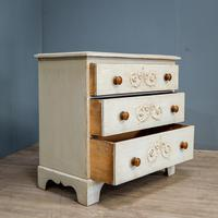 Painted 3 Drawer Chest (2 of 9)
