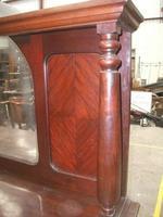 Victorian Mahogany Mirror-back Sideboard (2 of 3)