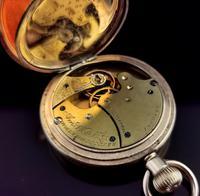 Antique Half Hunter Pocket Watch, Gold Plated, Waltham (3 of 11)