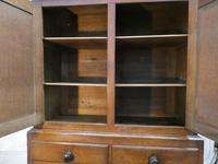 19th Century English Oak Kitchen Cupboard (2 of 12)