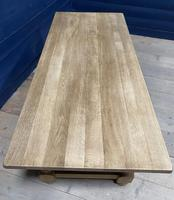 Good Looking Bleached Oak Farmhouse Dining Table (7 of 17)