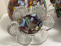 2 Beautiful Italian Murano Fratelli & Torso Millefiori Glass Vases (19 of 34)
