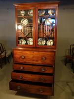 Good George III Period Mahogany Secretaire Bookcase (7 of 7)