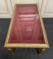 French Gilt Bijouterie Cabinet Coffee Table (15 of 15)