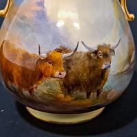 Royal Worcester Flared Vase (5 of 6)