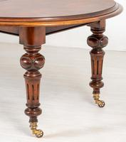Victorian Mahogany 2 Leaf Extending Dining Table (8 of 8)