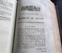 Collection of 109 Government Acts Passed in the Forty First Year of The Reign of His Majesty King George III (5 of 7)