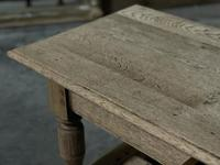 Large French Bleached Oak Coffee Table (9 of 14)