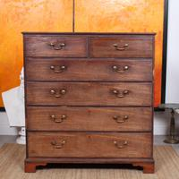 Georgian Chest of Drawers Mahogany Country Tallboy George IV (2 of 11)
