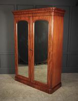 Victorian Mahogany Double Wardrobe (5 of 12)