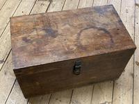 19th Century Oak Tool Chest (2 of 16)