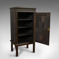 Vintage Ship's Cabinet, Rare, Asian, Coromandel, Decorative Maritime Cupboard (5 of 11)