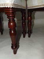 Pair of Late Georgian Mahogany Dressing Stools (3 of 8)