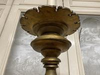 Large French Gilt Church Candlestick (8 of 9)