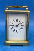 Victorian 8 Day  Brass Carriage Clock (5 of 13)