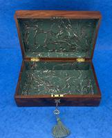 Georgian Flame Mahogany Box c.1820 (9 of 10)