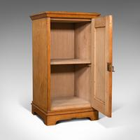 Antique Side Cabinet, English, Ash, Bedroom Night Stand, Pot Cupboard, Victorian (2 of 12)