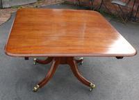 1900's Mahogany Breakfast Table